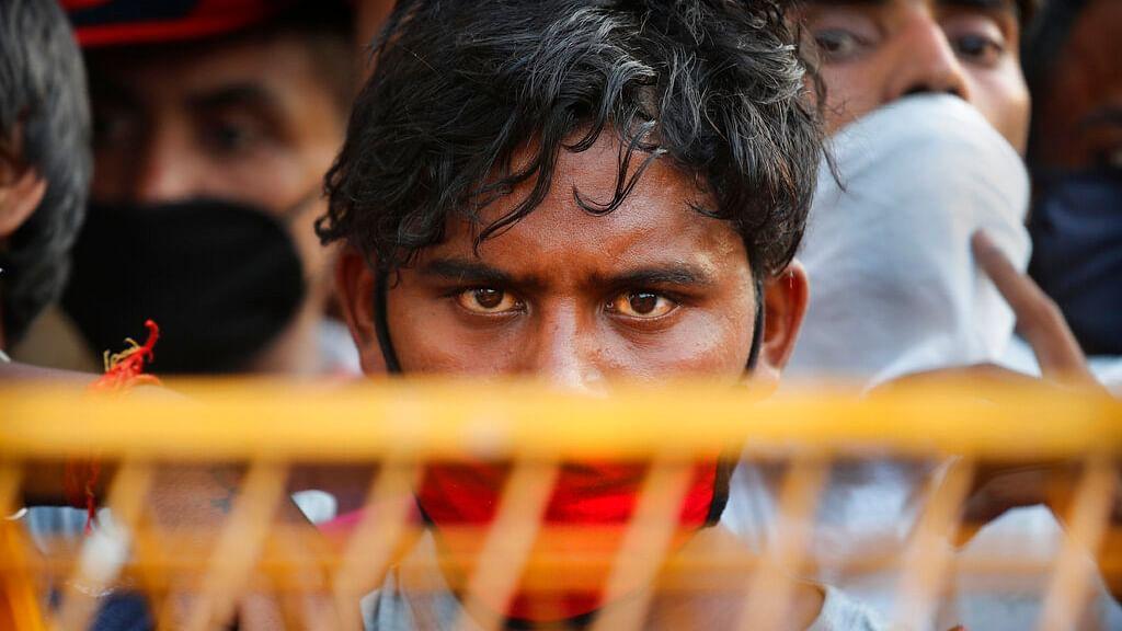 Migrant Worker in Delhi