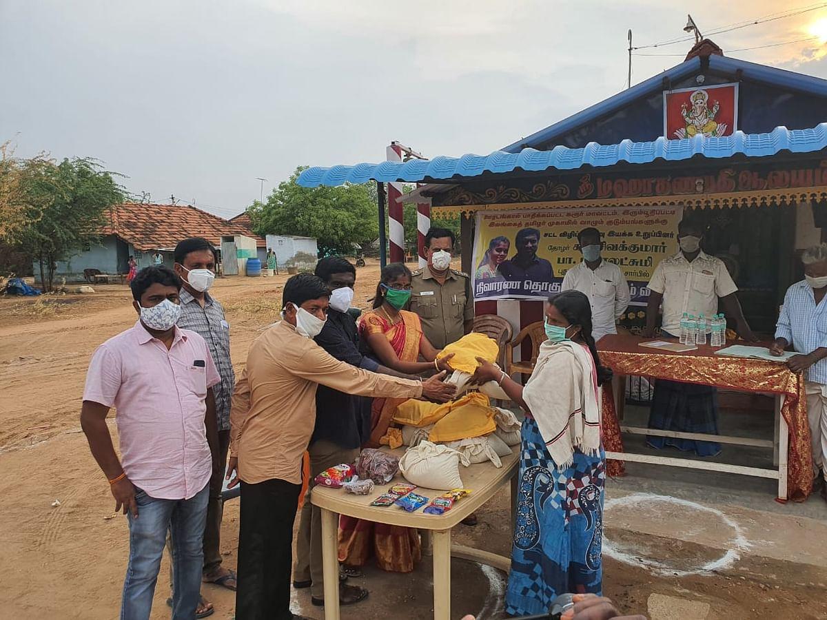 ஈழத்தமிழர்களுக்கு உதவும் சிவக்குமார், மகாலட்சுமி தம்பதி
