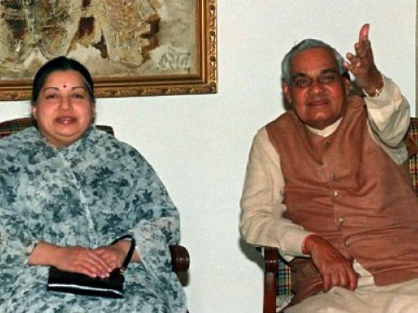 ஜெயலலிதா வாஜ்பாய்