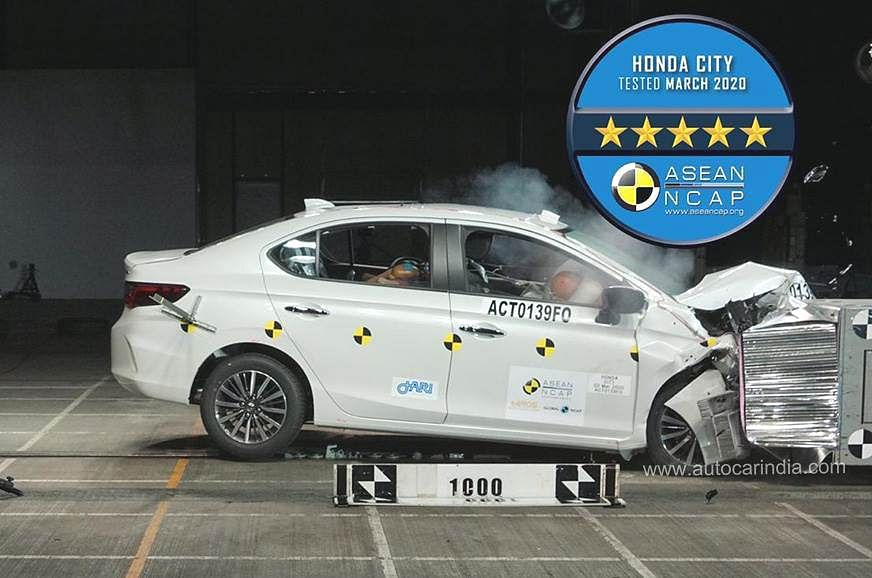 Honda City Crash Test