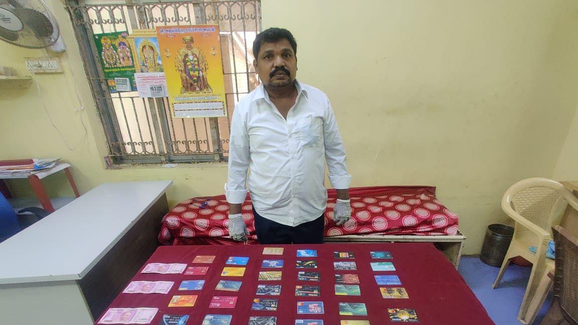 ஏடிஎம் வழக்கில் கைதான தொழிலதிபர் பார்த்தசாரதி