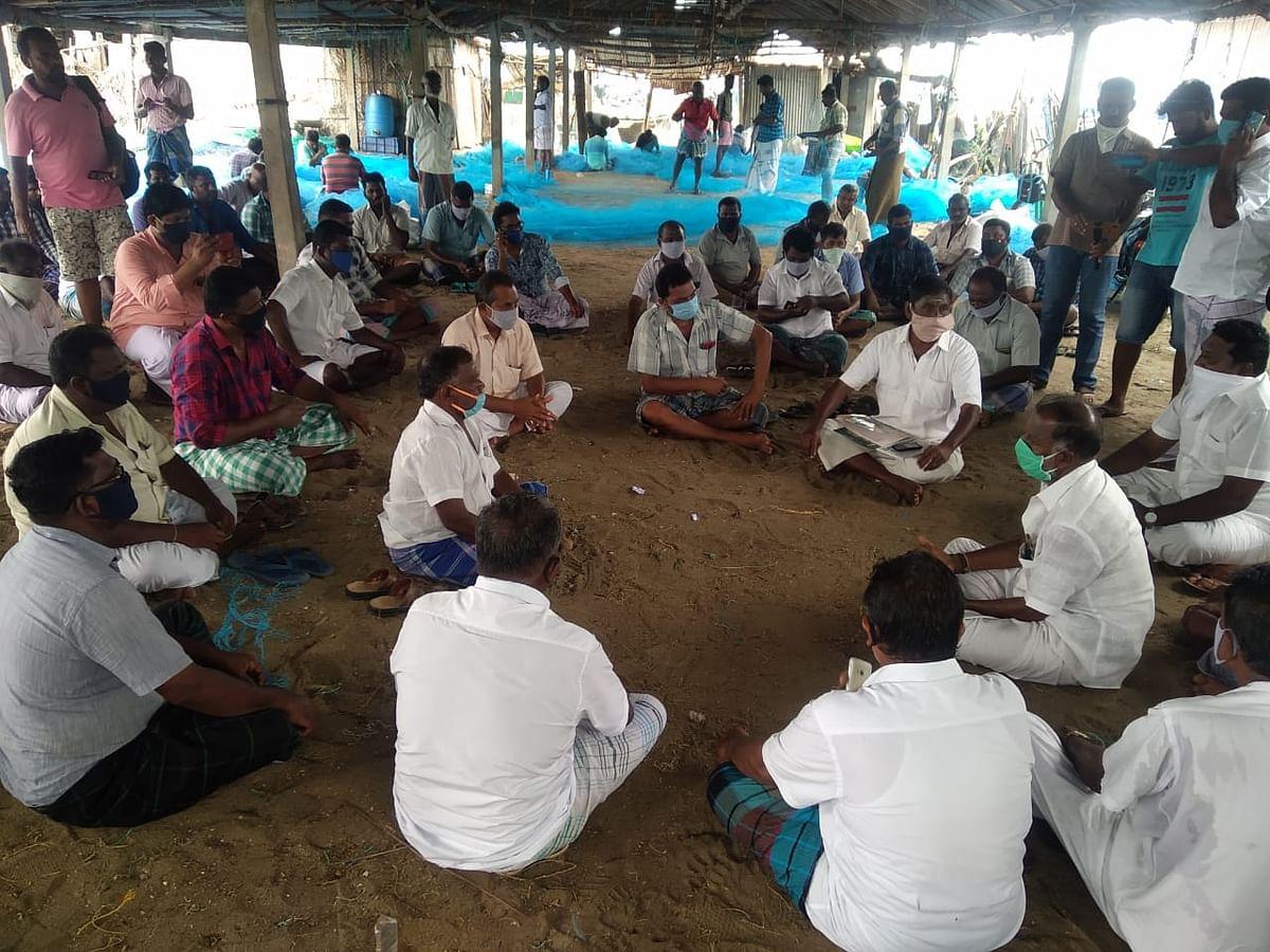 ராமேஸ்வரம் மீனவர்கள் ஆலோசனைக் கூட்டம்