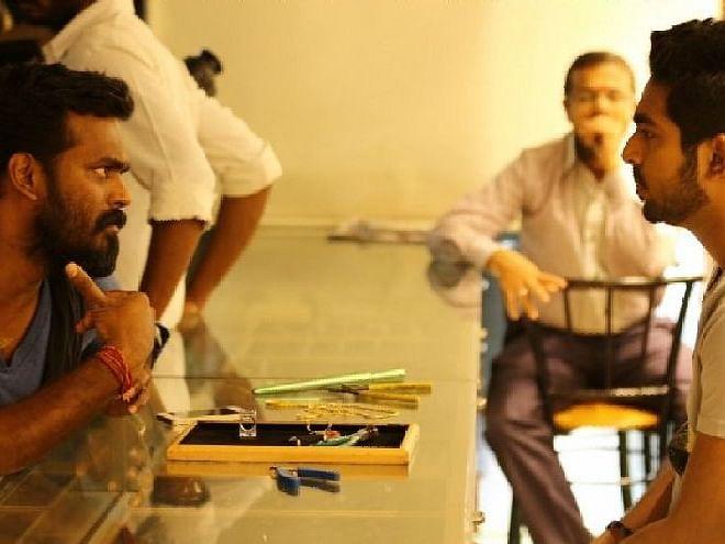 `` `4ஜி'க்கு அடுத்து இன்னொரு படம் பண்ணலாம்னு சொல்லியிருந்தேன்... ஆனா அருண்?!'' - ஜி.வி.பிரகாஷ்