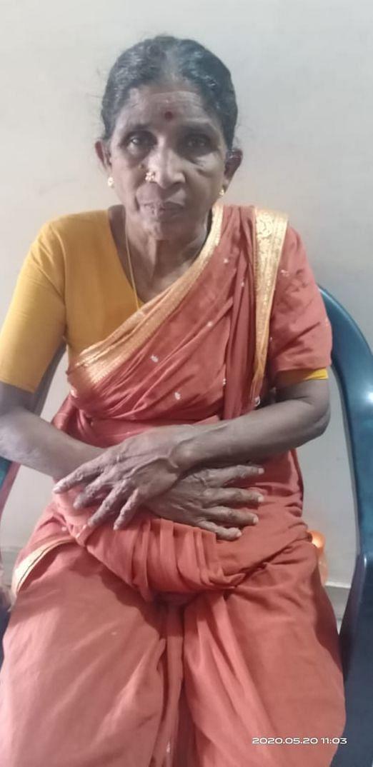 மூதாட்டி தனலட்சுமி