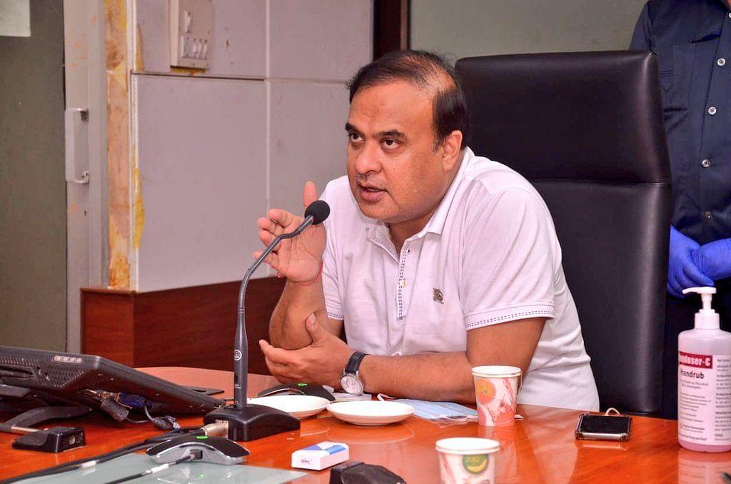 அஸ்ஸாம் சுகாதாரத்துறை அமைச்சர் ஹிமாந்த பிஸ்வா சர்மா