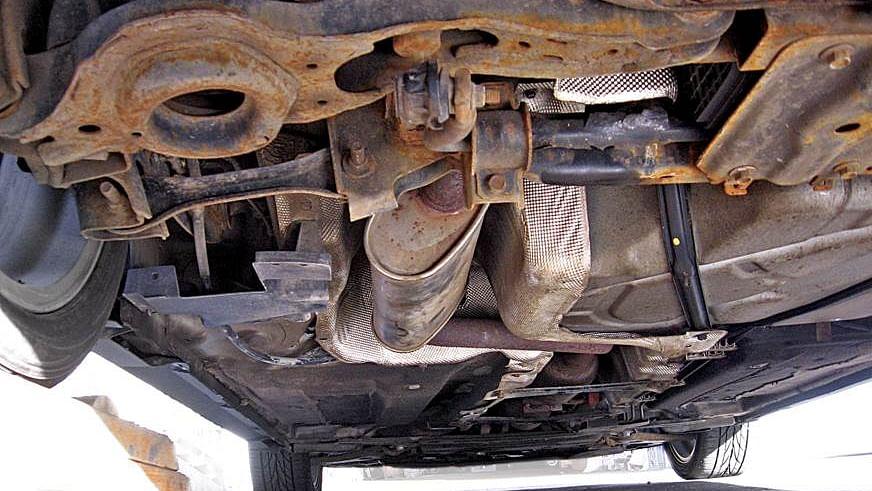 Car Underbody