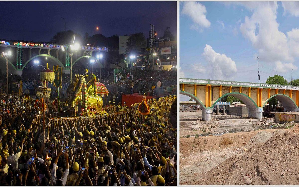 700 ஆண்டுகளுக்குப் பின் நின்றுபோன மதுரை சித்திரைத் திருவிழா... அன்றும், இன்றும்! #VikatanPhotoStory