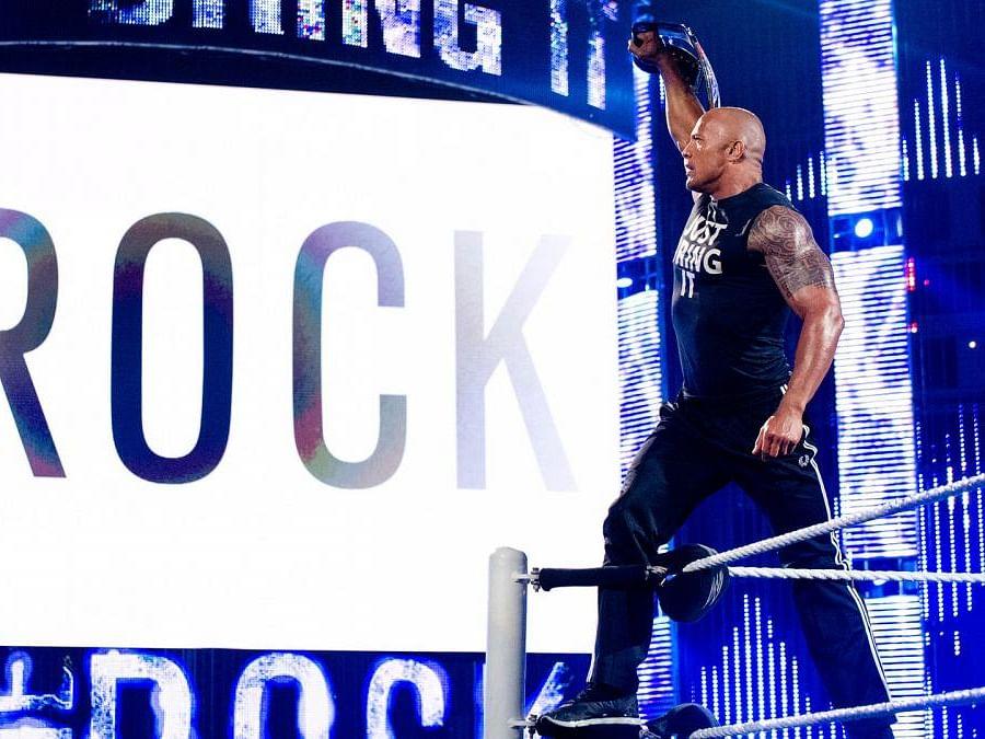 Dwayne `The Rock' Johnson