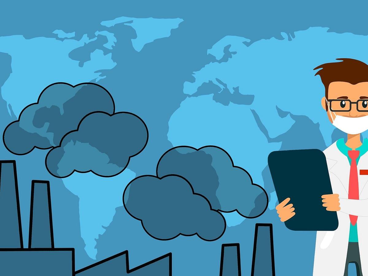 காற்றின் மூலம் கொரோனா வைரஸ் பரவுமா... ஆய்வு முடிவு சொல்வது என்ன? #AirPollution
