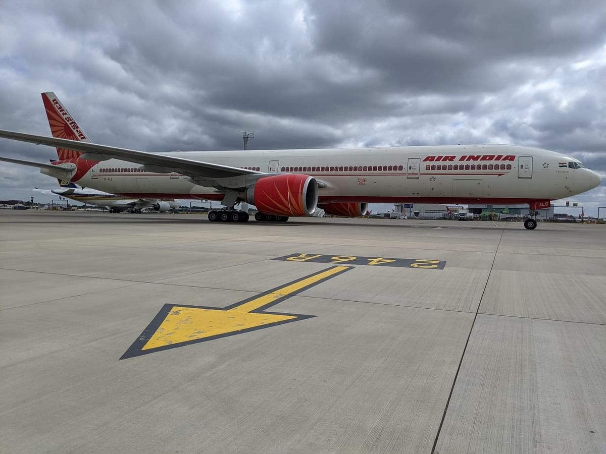 Evacuation flight for Ahmedabad took off from London