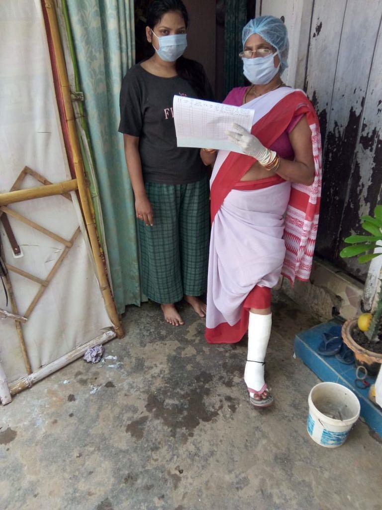 சுகாதாரப் பணியாளர் விம்லா குமாரி