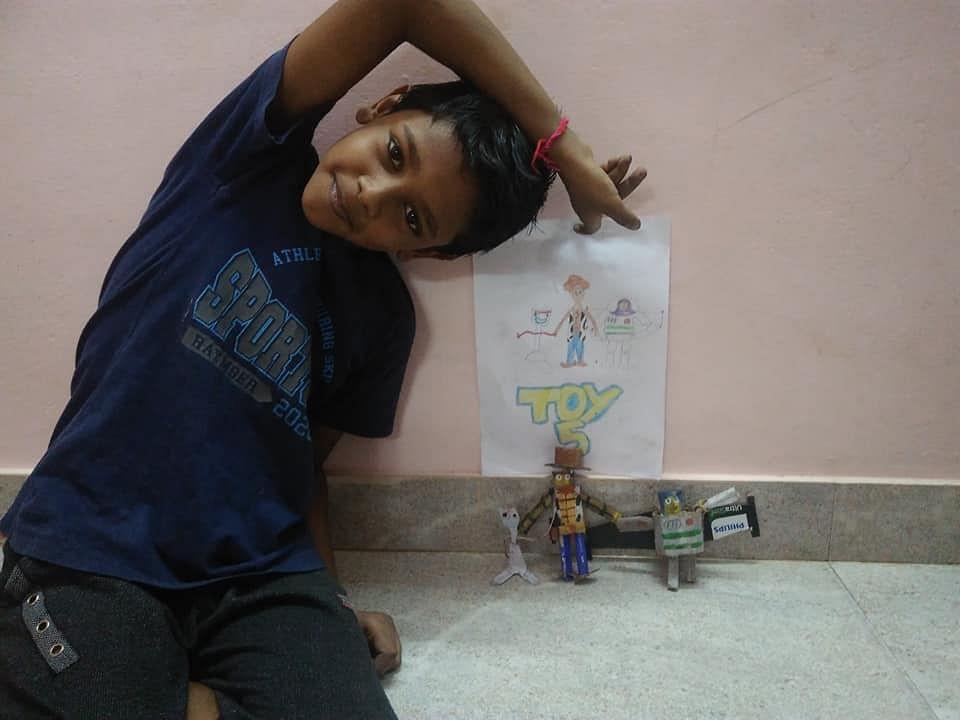 மைக்கேல் ஜாக்சன் பொம்மை! #KidsTalentCorner