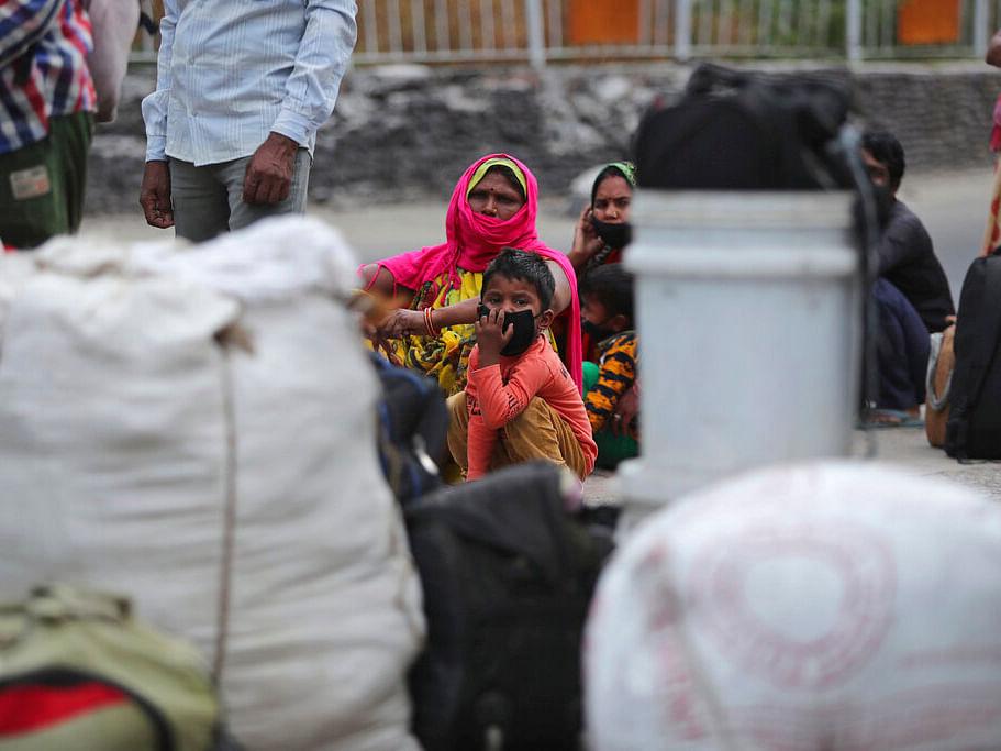 Migrant workers in Jammu