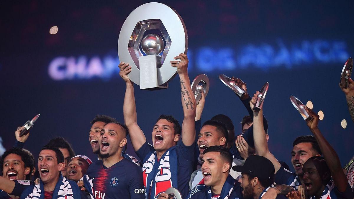 PSG - Ligue 1 champions