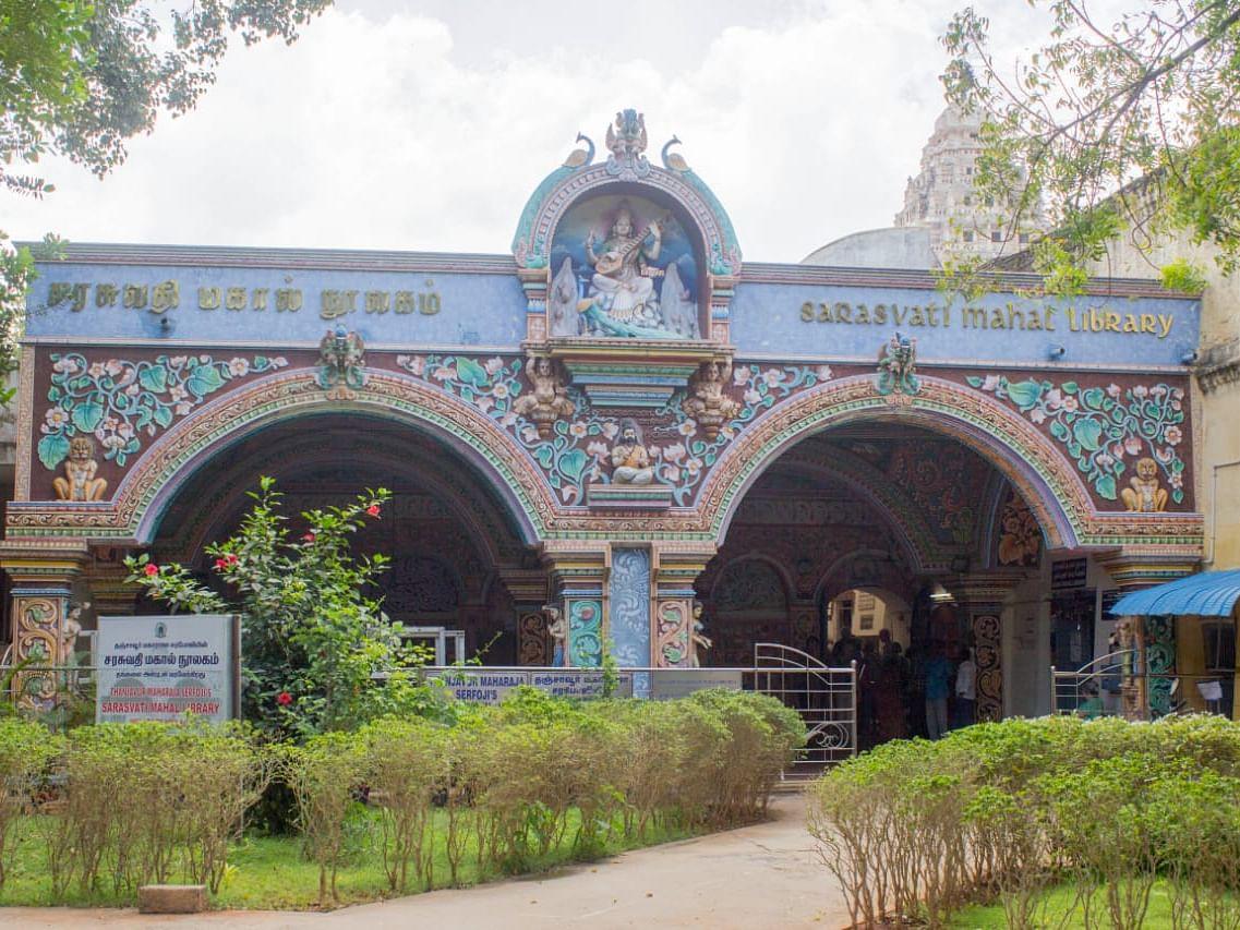 கலைக்கு பெரிய கோயில்... கல்விக்கு `சரஸ்வதி மஹால் நூலகம்' - அழிவிலிருந்து மீட்கக் கோரும் சமூக ஆர்வலர்கள்