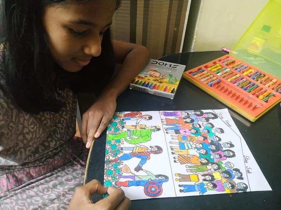 கொரோனா சூப்பர் ஹீரோஸ்..! #KidsTalentCorner