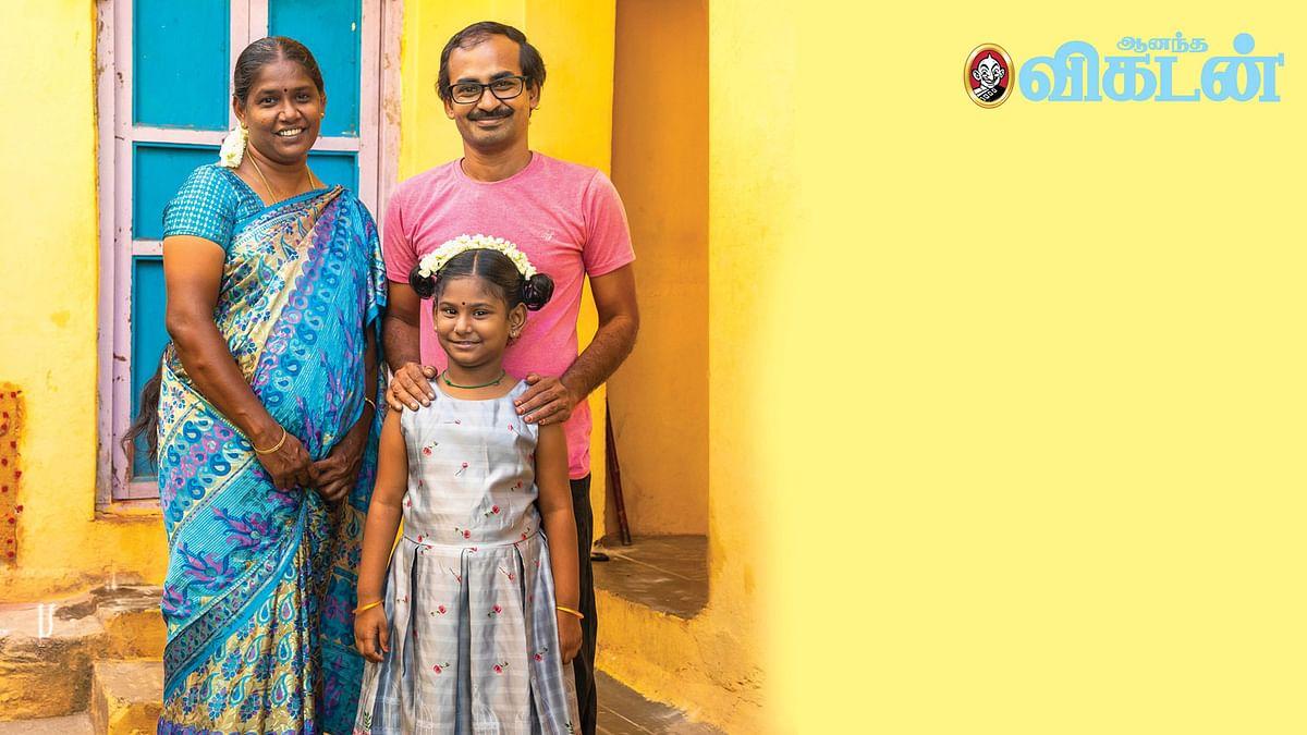குடும்பத்துடன் தினேஷ்பாபு
