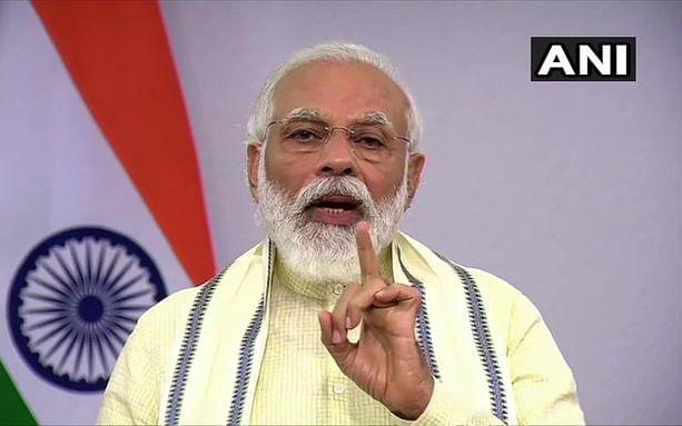 Modi: `மழைக்கால எச்சரிக்கை; நவம்பர் வரை இலவச ரேஷன்'  -மோடி உரையின் ஹைலைட்ஸ்