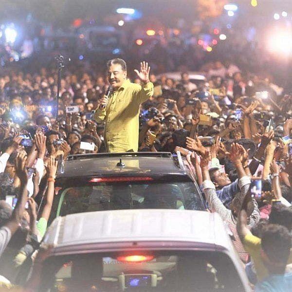 தேர்தல் நேரத்தில் வேலூரில் பேசிய கமல்ஹாசன்