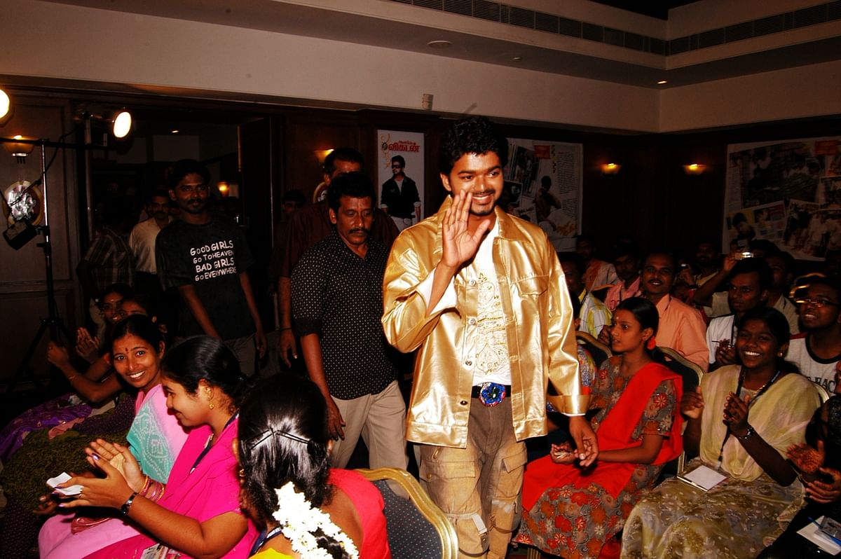 Vijay, Vikatan Party