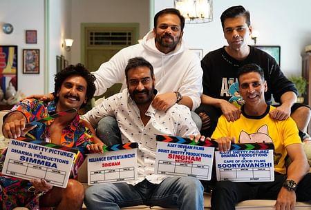 karan Johar, Akshay kumar, Rohit Shetty, Ranveer singh, Ajay Devghan