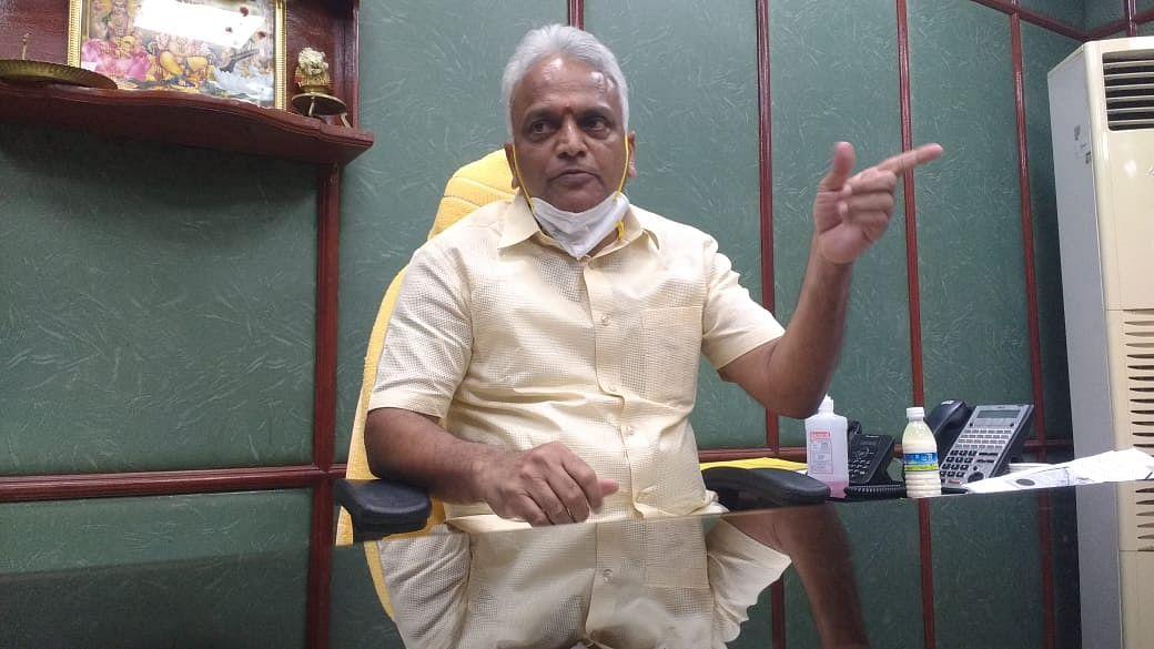புதுச்சேரி சுகாதாரத்துறை அமைச்சர் மல்லாடி கிருஷ்ணாராவ்
