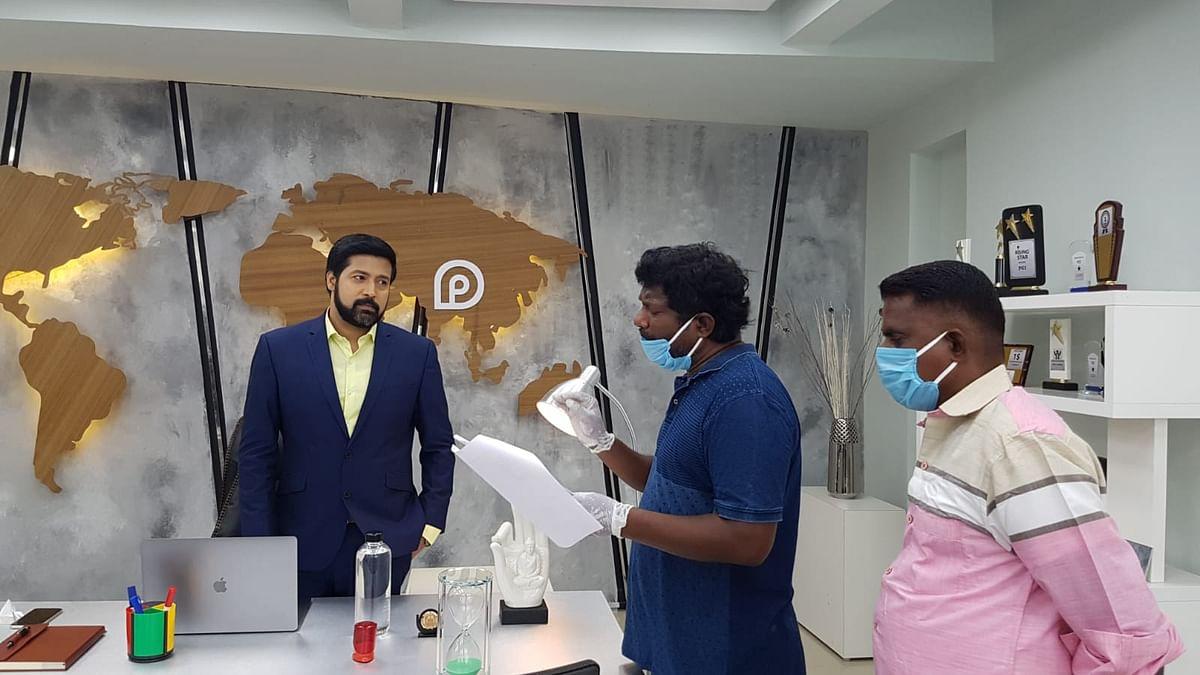 டிவி சீரியல் - மாதிரிப்படம்