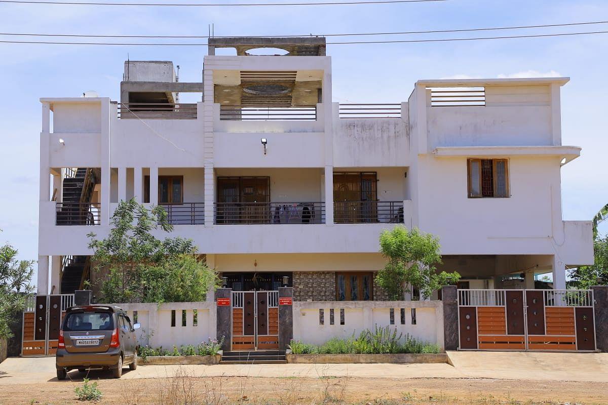 செந்தில்குமார் ராஜம்  வீடு
