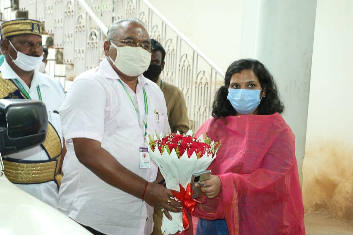 ஆஷா அஜித் ias