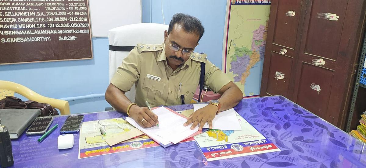 டி.எஸ்.பி புகழேந்தி கணேஷ்