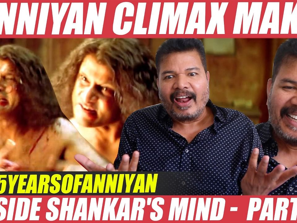 WOW: ANNIYAN Climax, நடித்துக்காட்டி அசத்திய Shankar! Vikram | Harris Jayaraj | Anniyan Making Story