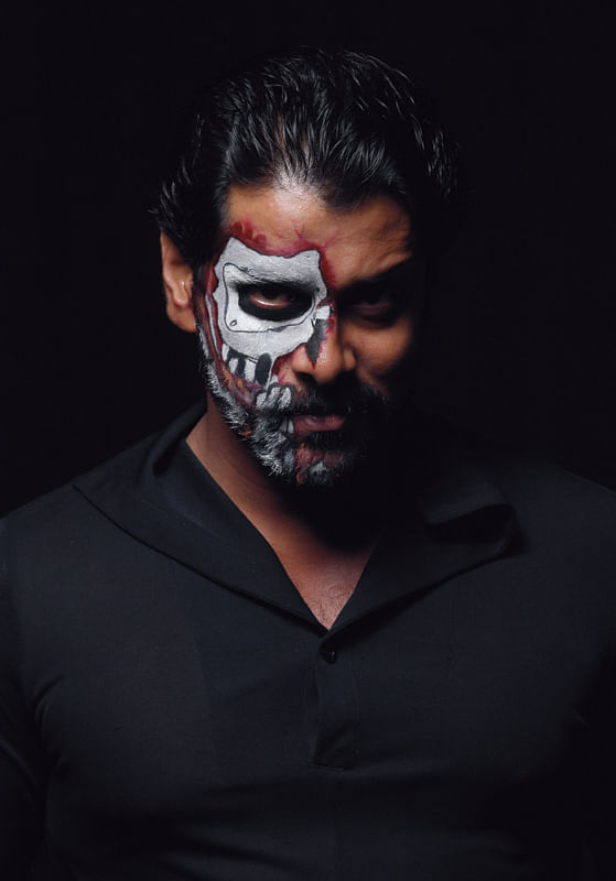Vikram in Anniyan movie photoshoot