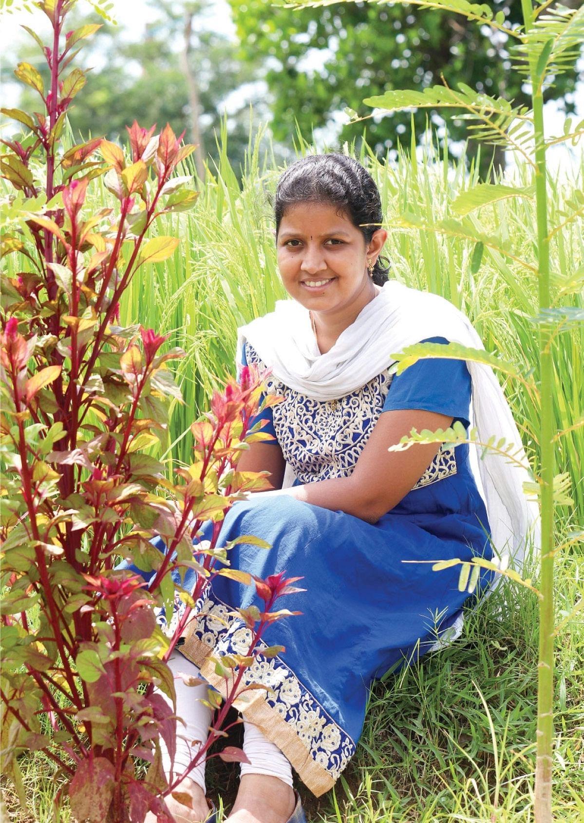 `160 விவசாயிகளுக்கு வருவாய், 800 குடும்பங்களுக்குக் காய்கறிகள்...' - அர்ச்சனா ஸ்டாலின் அசத்தல்