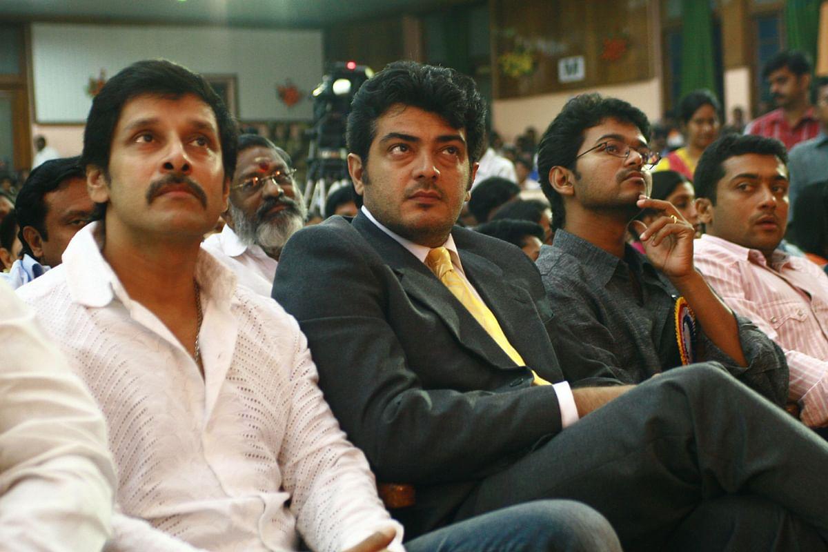 Ajith, Vijay, Surya, VIkram