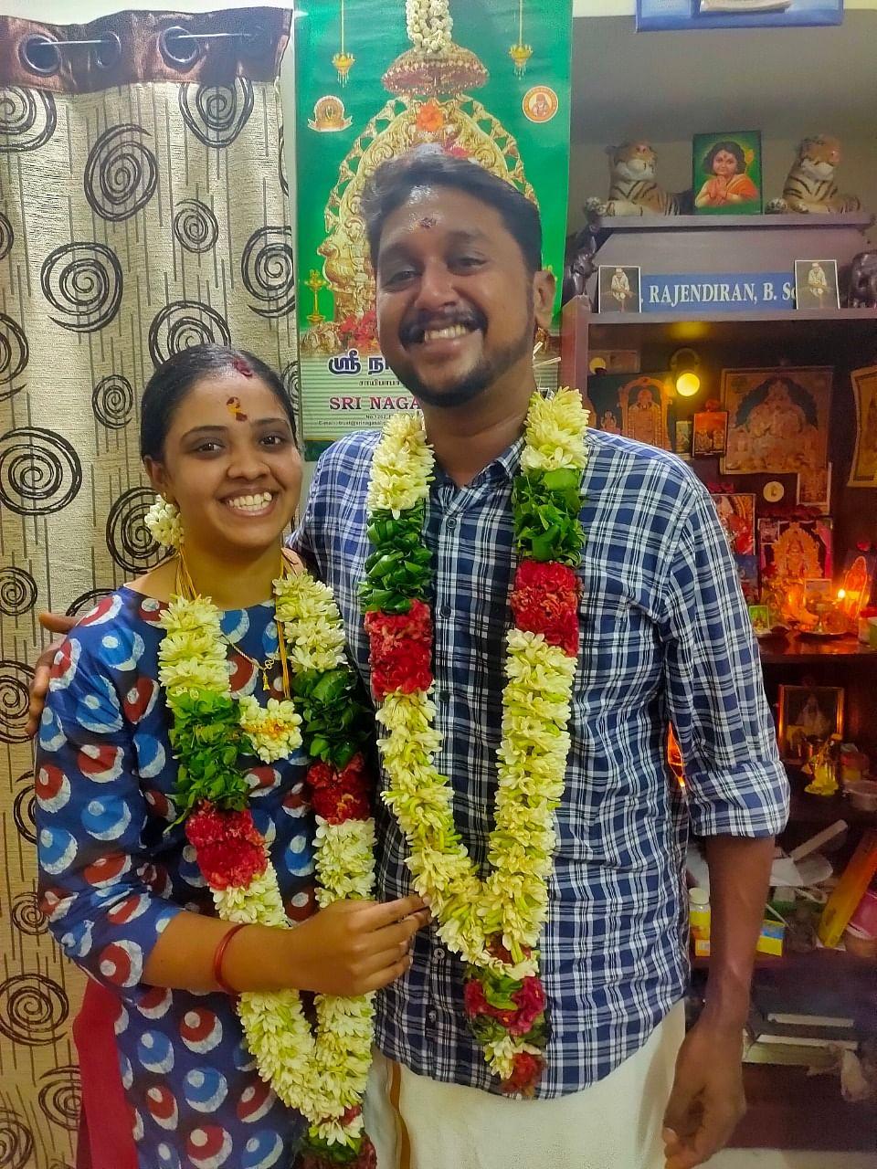 சக்தி தமிழினி பிரபா, கார்த்திகேயன்