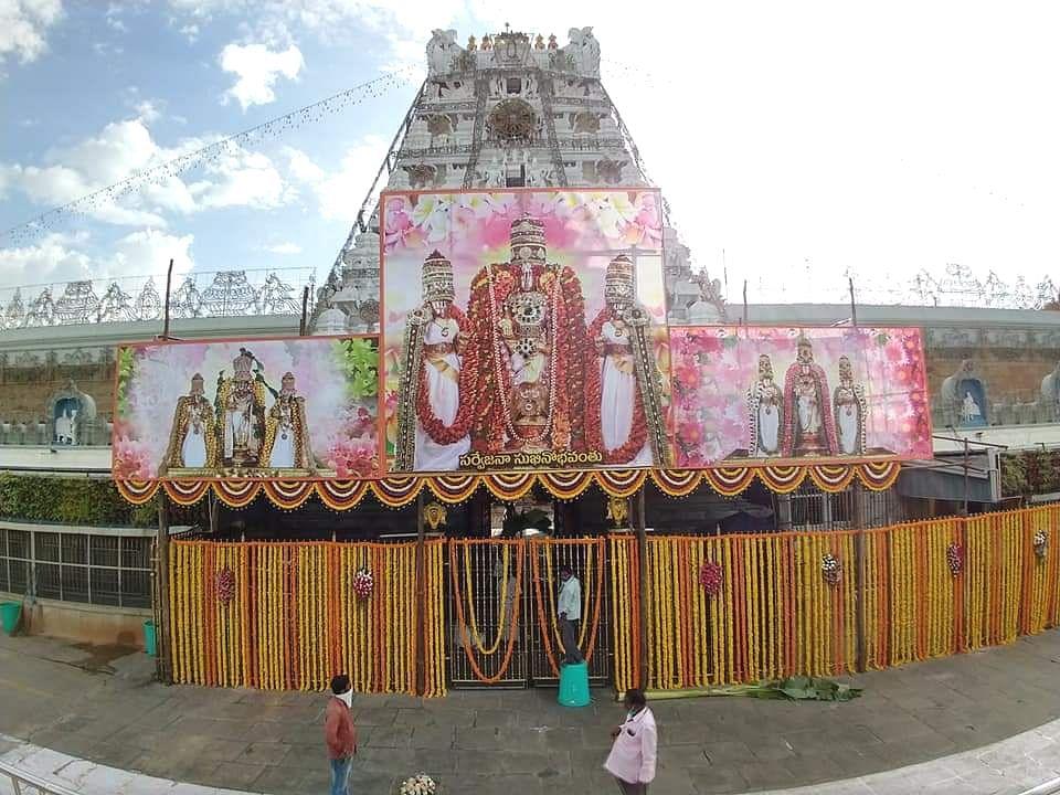 `தமிழக பக்தர்களுக்கு இ-பாஸ் கட்டாயம்!' - 79 நாள்களுக்குப் பிறகு காட்சி தந்தார் திருப்பதி ஏழுமலையான்