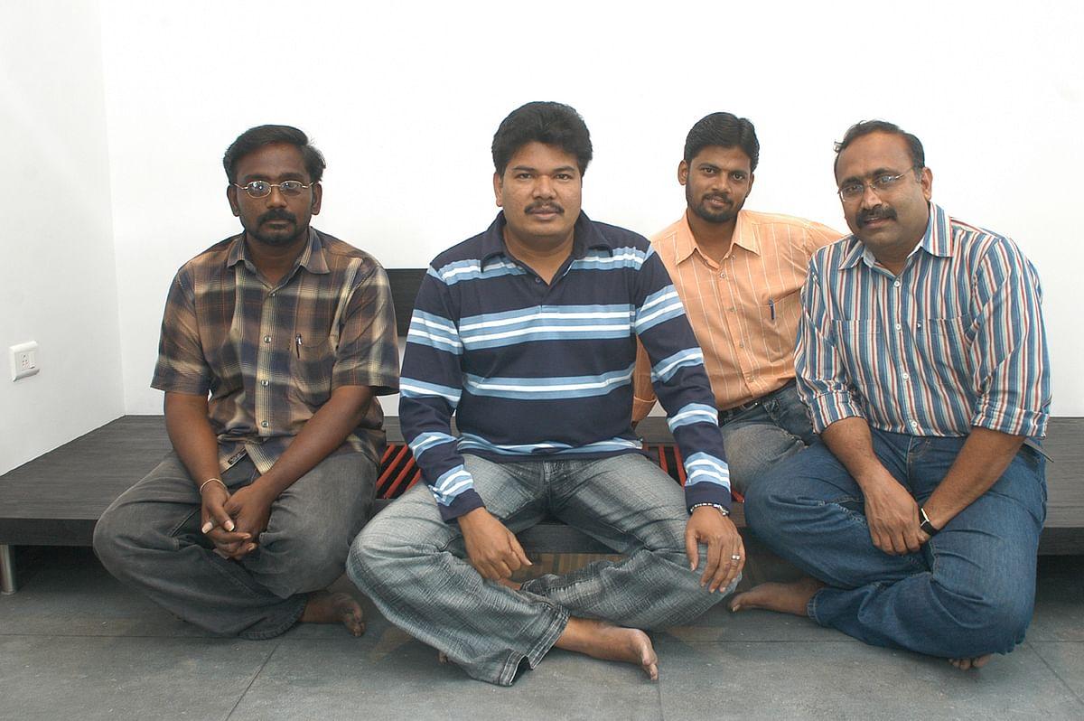 Shankar, Balaji Sakthivel, Simbudevan and Vasantha Balan