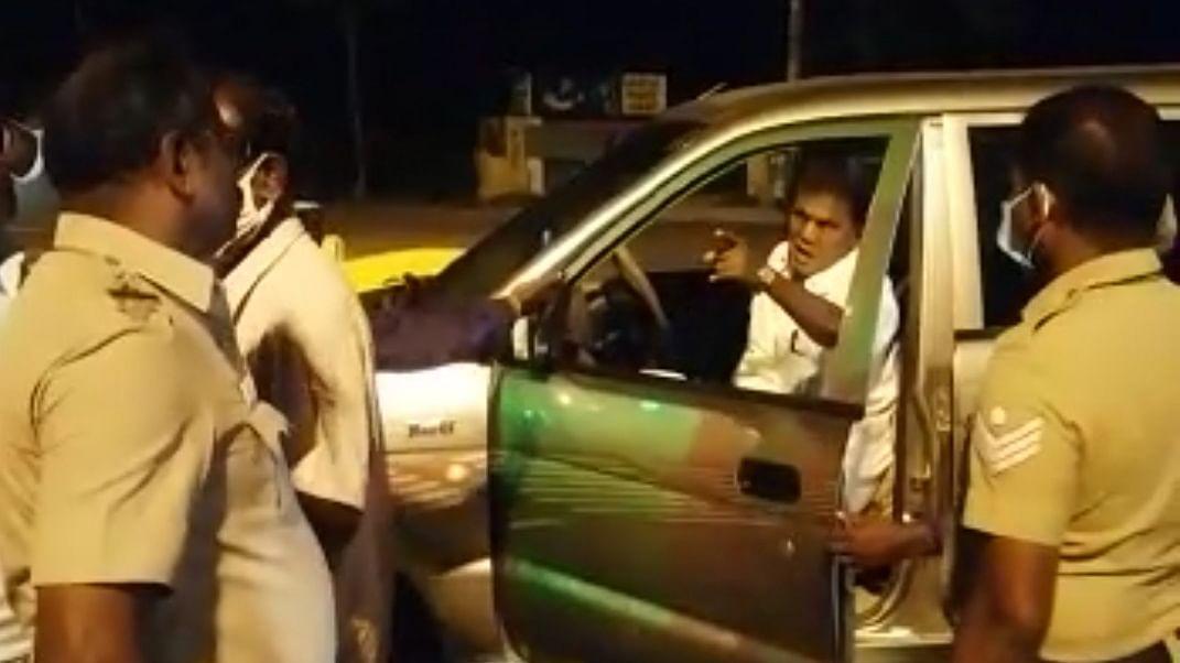 முன்னாள் எம்.பி அர்ஜுனன்