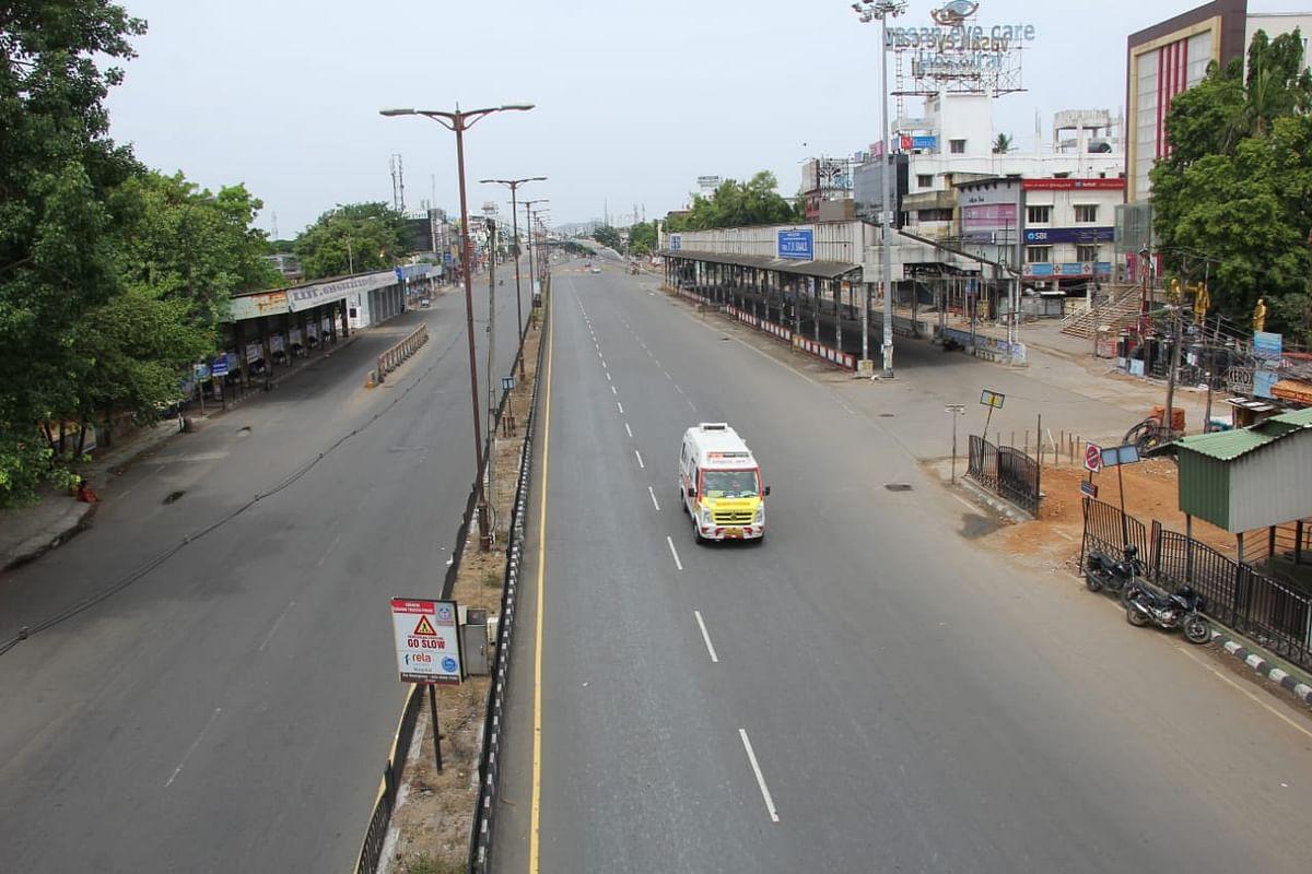 சென்னை - முழு ஊரடங்கு