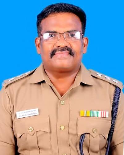 தமிழக டி.எஸ்.பி கண்ணபிரான்