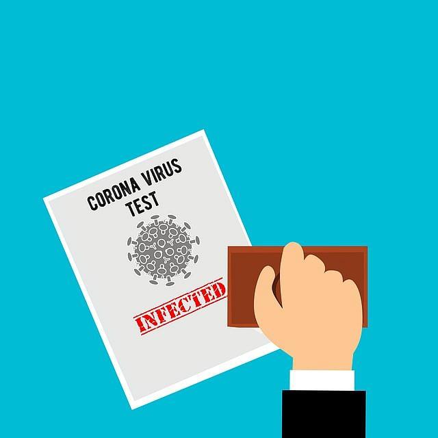 corona test result