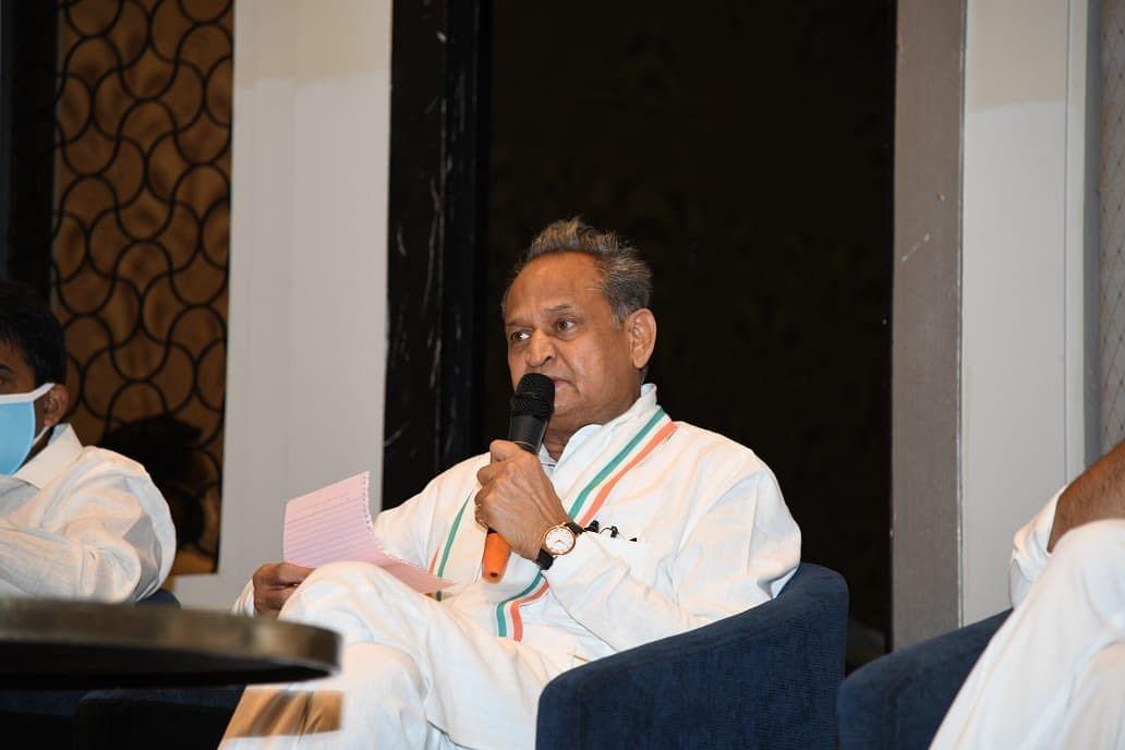 ராஜஸ்தான் முதல்வர் அசோக் கெலாட்