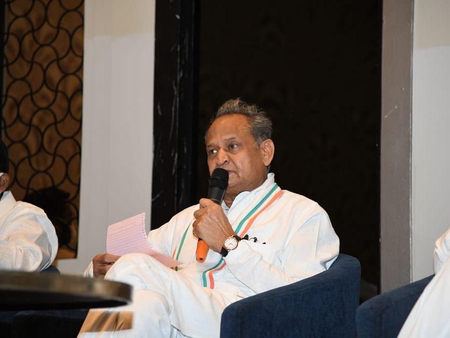 ராஜஸ்தான்: `6 பக்கக் காதல் கடிதம் எழுதியுள்ளார்!' - ஆளுநரைக் கேலி செய்த முதல்வர்