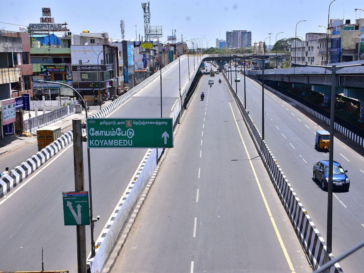 முழு ஊரடங்கின் முதல் நாள்... வெறிச்சோடிய சென்னை மாநகரம்! #Photos