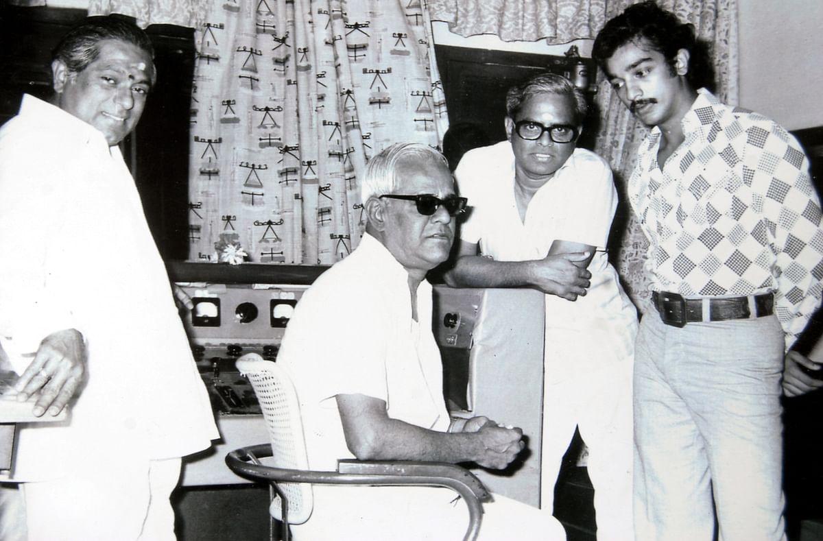 பாலசந்தர், கமல்ஹாசன்