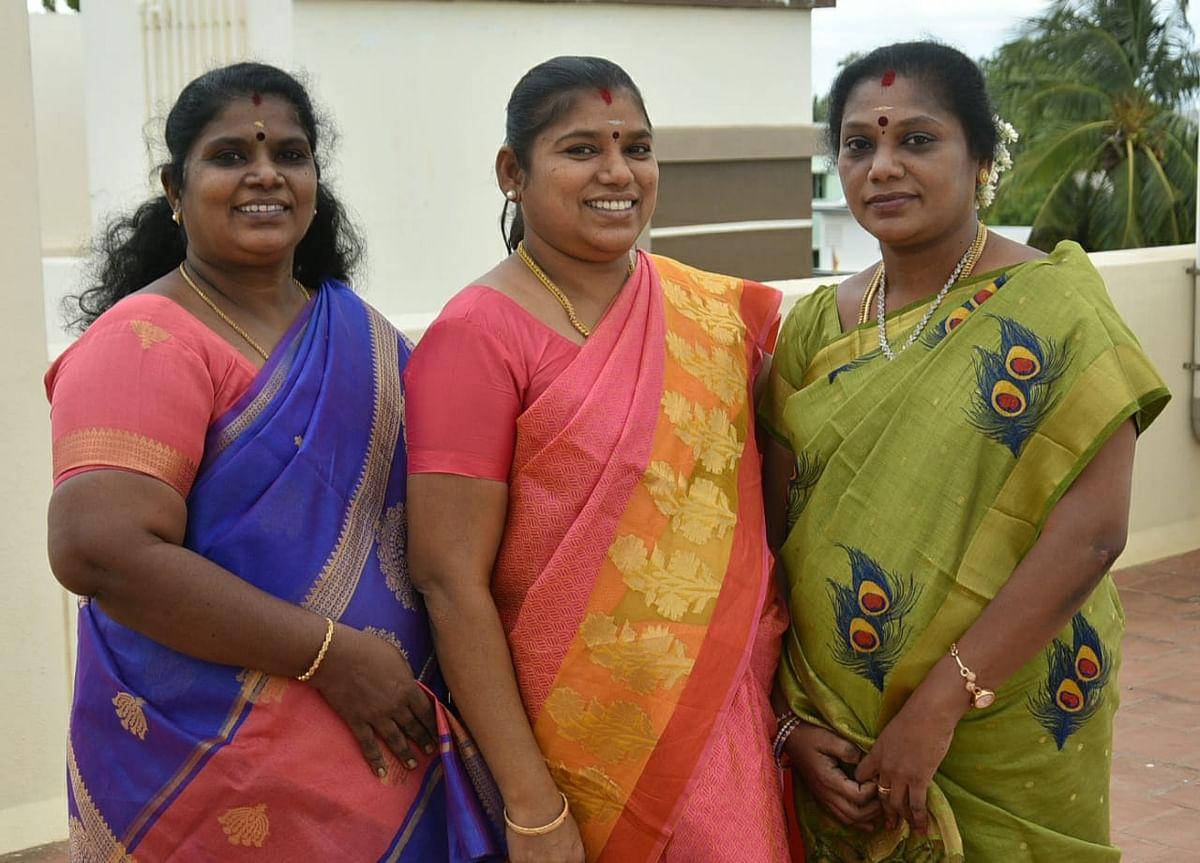 அமுதா, முத்துமீனா, தவமணி