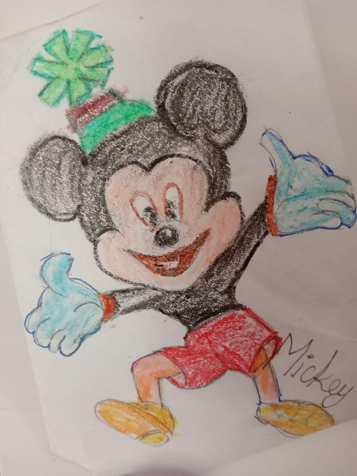 Mickey mouse cartoon