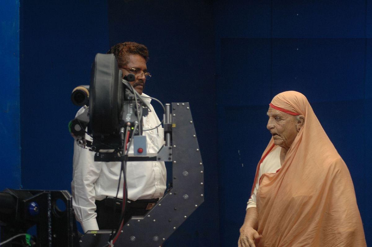 Kamal Haasan and KS Ravikumar
