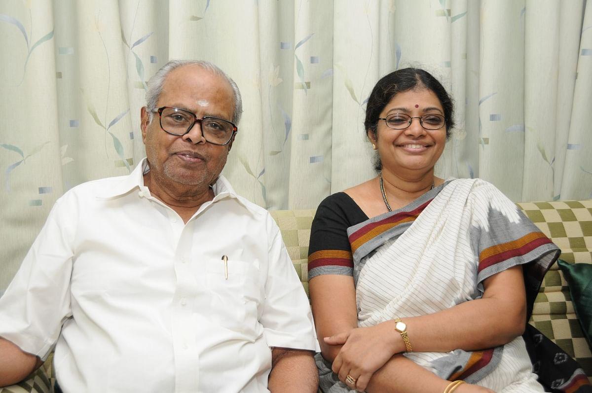 கே.பாலசந்தர், புஷ்பா கந்தசாமி