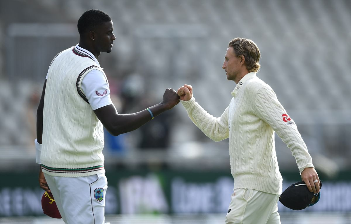 Jason Holder, Joe Root
